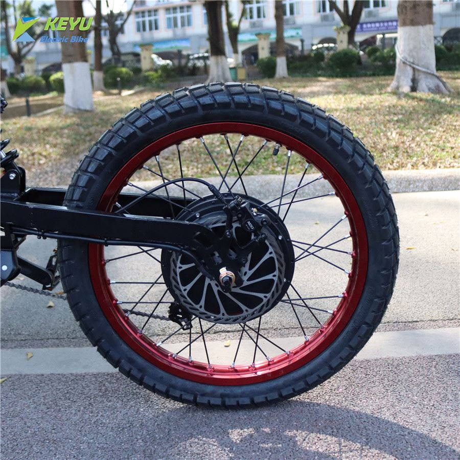120KM/H 72V 8000w High Speed Electric Bicycle Hub Motor Conversion Kit QS V3 273 Motor 8KW