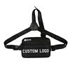 Black rig chest bag
