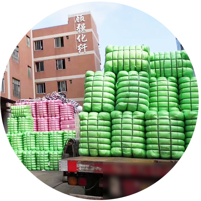 High quality and good price Hollow conjugated HCS 7D/64mm recycled polyester staple fiber