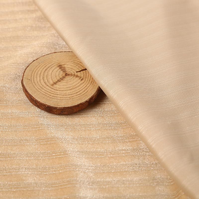 Оптовая продажа, Вельветовая ткань из эластичного полиэстера с люрексом, Вельветовая ткань в полоску для одежды