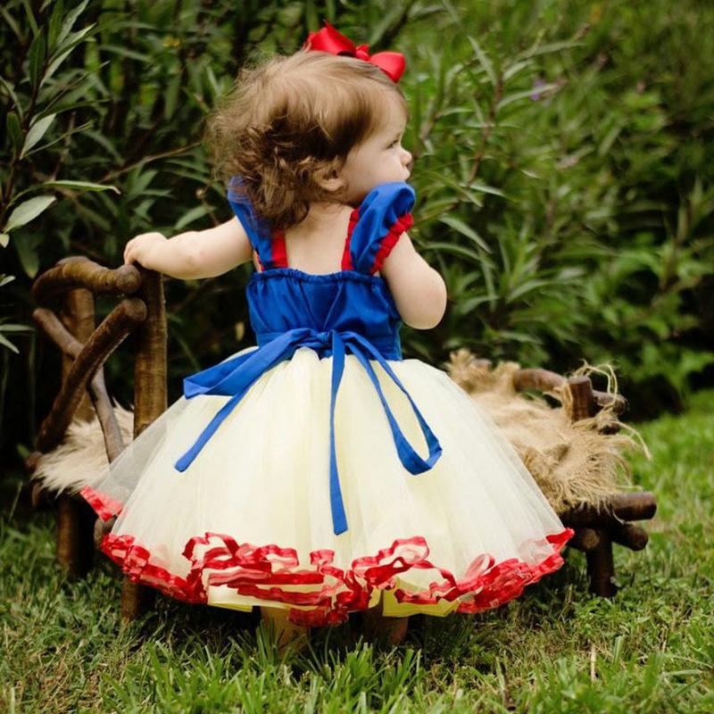 New Design Toddler Kids Girls Princess Baby Girls Satin Layered Girls Halloween Fashion Dresses