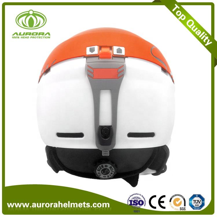 Leading Carbon Fiber Technology Direct Factory Cool Ski Helmet, Carbon Fiber Ski Helmet