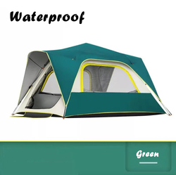 Four-season Glamping Big Space Automatic Tent Camping 4 Person Family