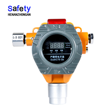 S100 fixed online realtime monitor gas detector, point type alcohol ethanol gas analyzer