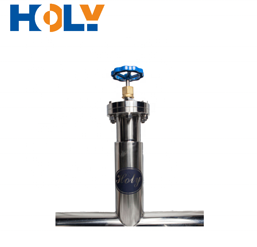 DN15-40 Vacuum Insulated Shut off Valve which controls Liquefied Ethylene Gas in Vacuum Insulated Piping
