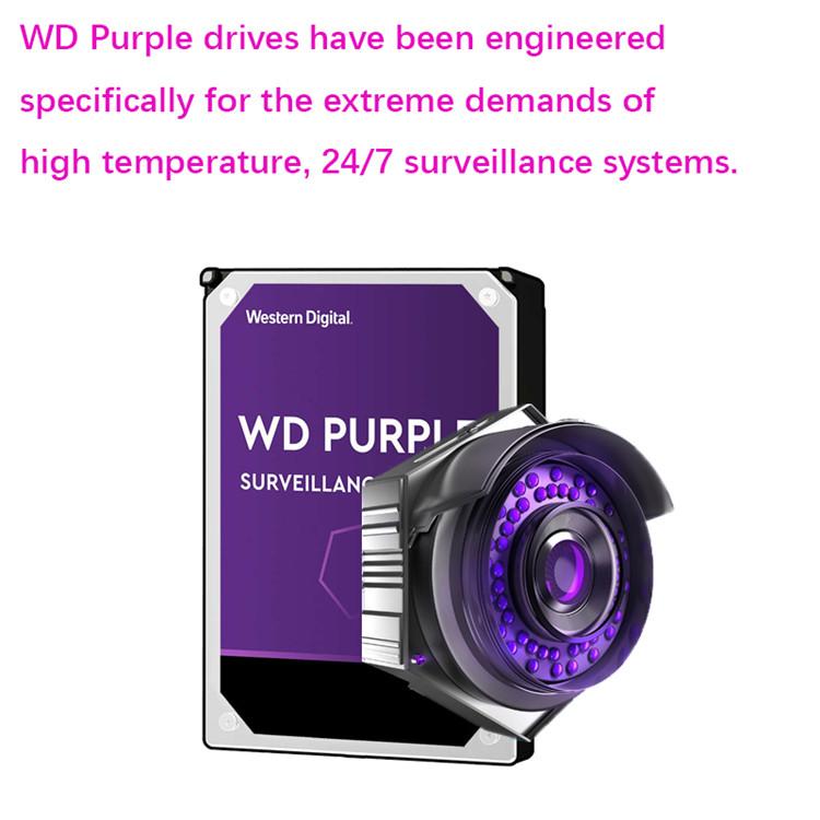 Purple HDD 1TB 2TB 3TB 4TB 6TB 8TB SATA 3.5