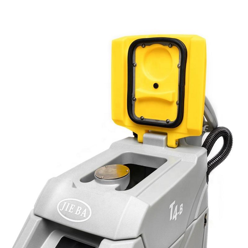 Скруббер для пола от производителя, электронное управление обеспечивает более удобную сборку и автоматическую разборку кистей