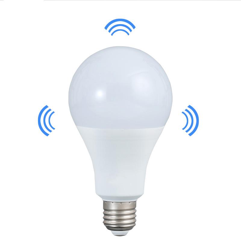 Microwave Turn Off Smart Led Bulb Radar Sensor 5w 7w 9w 12w 15w