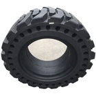 Tire For Boom Lift Tire 14-17.5 Solid Tire Replace 18-625 NHS Solid Tire Lug Wheel For Aerial Boom Lift