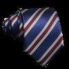 Navy Red Gay Stripe Tie