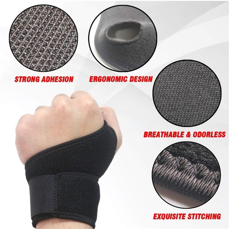 2020 HIgh Quality Comfortable Adjustable Wrist Wraps Wrist Brace for Wrist Sport Protection