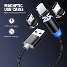 Mobile Phone Cable Usb Phone Cable Magnetic Absorption Fast Charging USB Data Cable For Android Mobile Phone