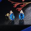 Bleu + Or Plated-E554