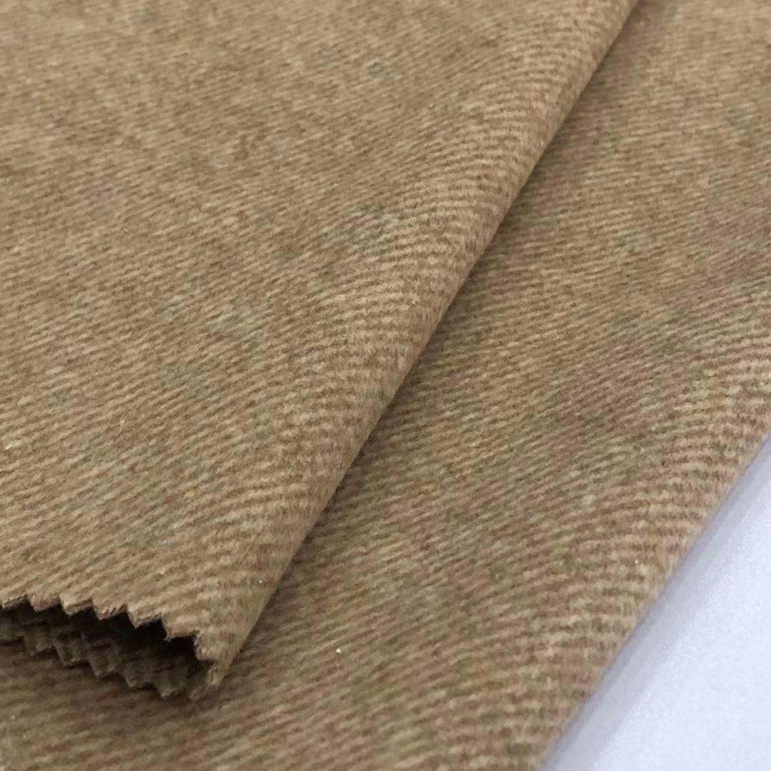 30% Wool 720g/m Twill Single Sided Wool Fabric