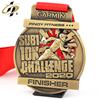 Marathon medal 12