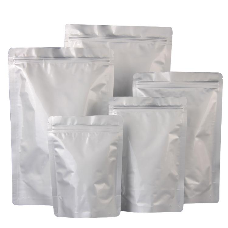 Антистатический влагоотталкивающий пакет из фольги на молнии для еды