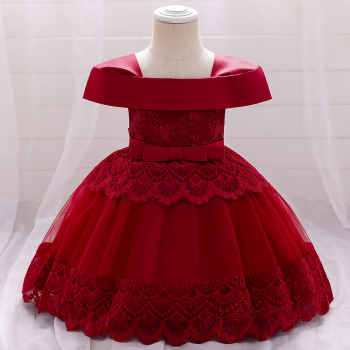 MQATZ Amazon High Quality Baby Frock For Christmas Newyear Party Newborn Baby Girl Little Dress Fancy Design L1969xz