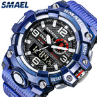 Watch SMAEL Digital Watch 8035 New Shiny Color Watch Water Resistant Quartz Wrist Watch New Design