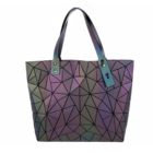 Luxury Bag 2021 Luxury Exquisite Women Tote Bag Large-capacity Geometric Luminous Handbag