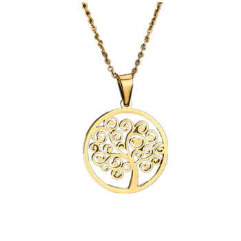 Factory Main Product Jewelry Thriving Family Tree of Life Necklace Pendant