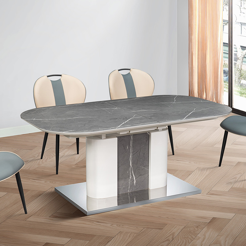 Marble Wood Dining Table Round Extendable Dining Table Dining Table Set 6 Chairs With Low Price Buy Marble Wood Dining Table Round Extendable Dining Table Dining Table Set 6 Chairs Product On Alibaba Com