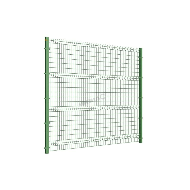 Недорогие Декоративные изогнутые сварные панели из проволочной сетки 3d
