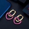 zircon earrings 2