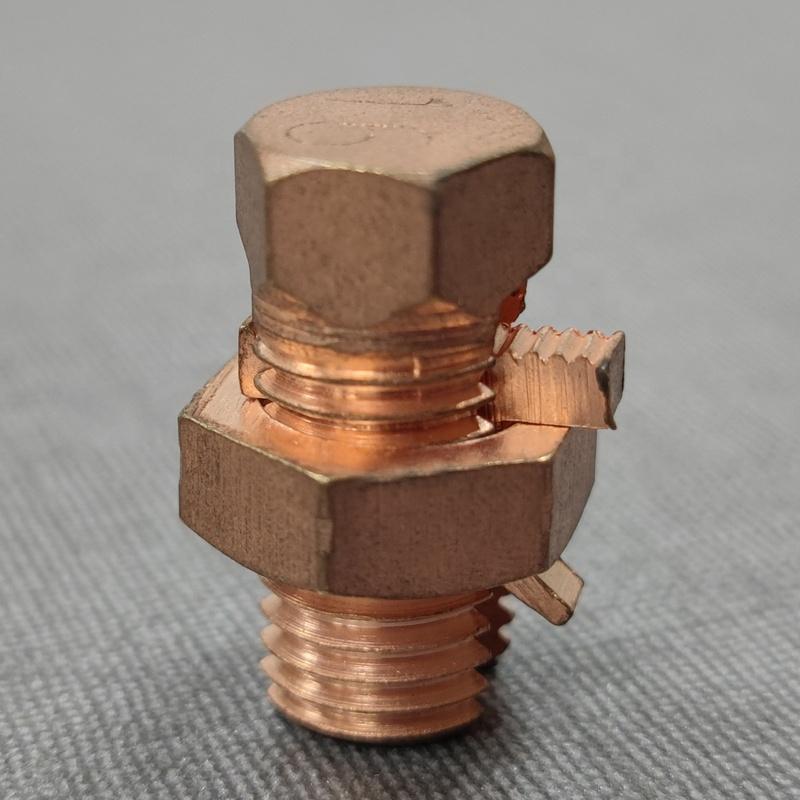 Изготовленные B/C электрические разъемы для проводов басов, медный разъем с болтами