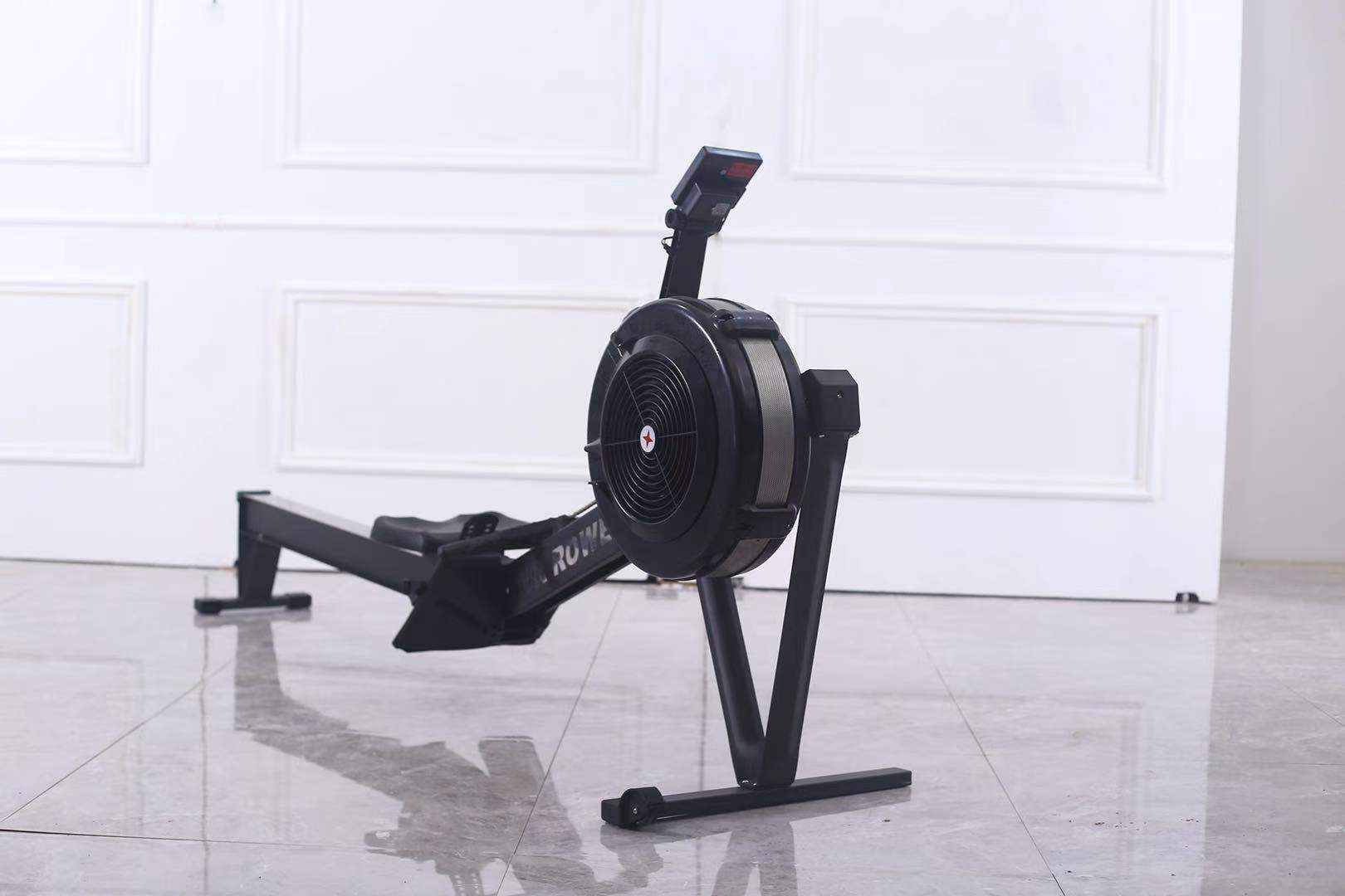 home gym rowing machine air rower air rowing machine factory gym equipment for sale