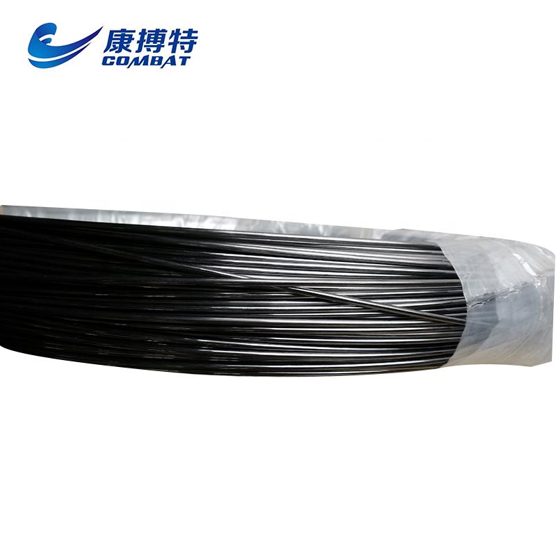 Молибденовая проволока с ограниченным зазором диаметром 3,2 мм с графитовым черным покрытием цена за кг
