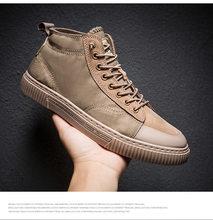 Мужские кроссовки на плоской подошве, дышащие кроссовки с высоким берцем для бега, баскетбола, путешествий(Китай)