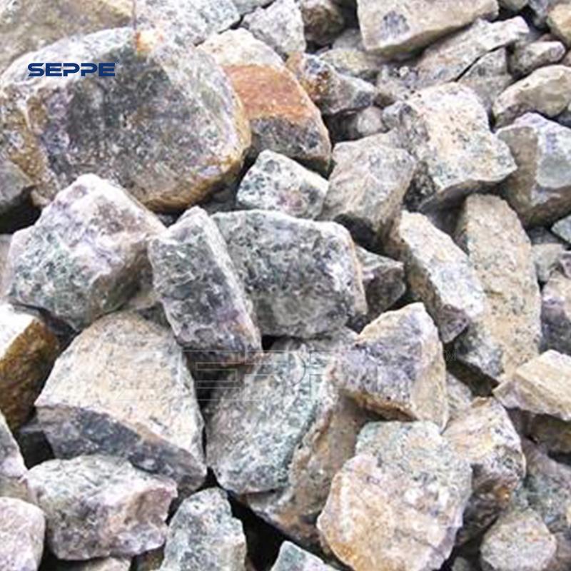 Каф2 85% гребни флюорита для металлургической промышленности