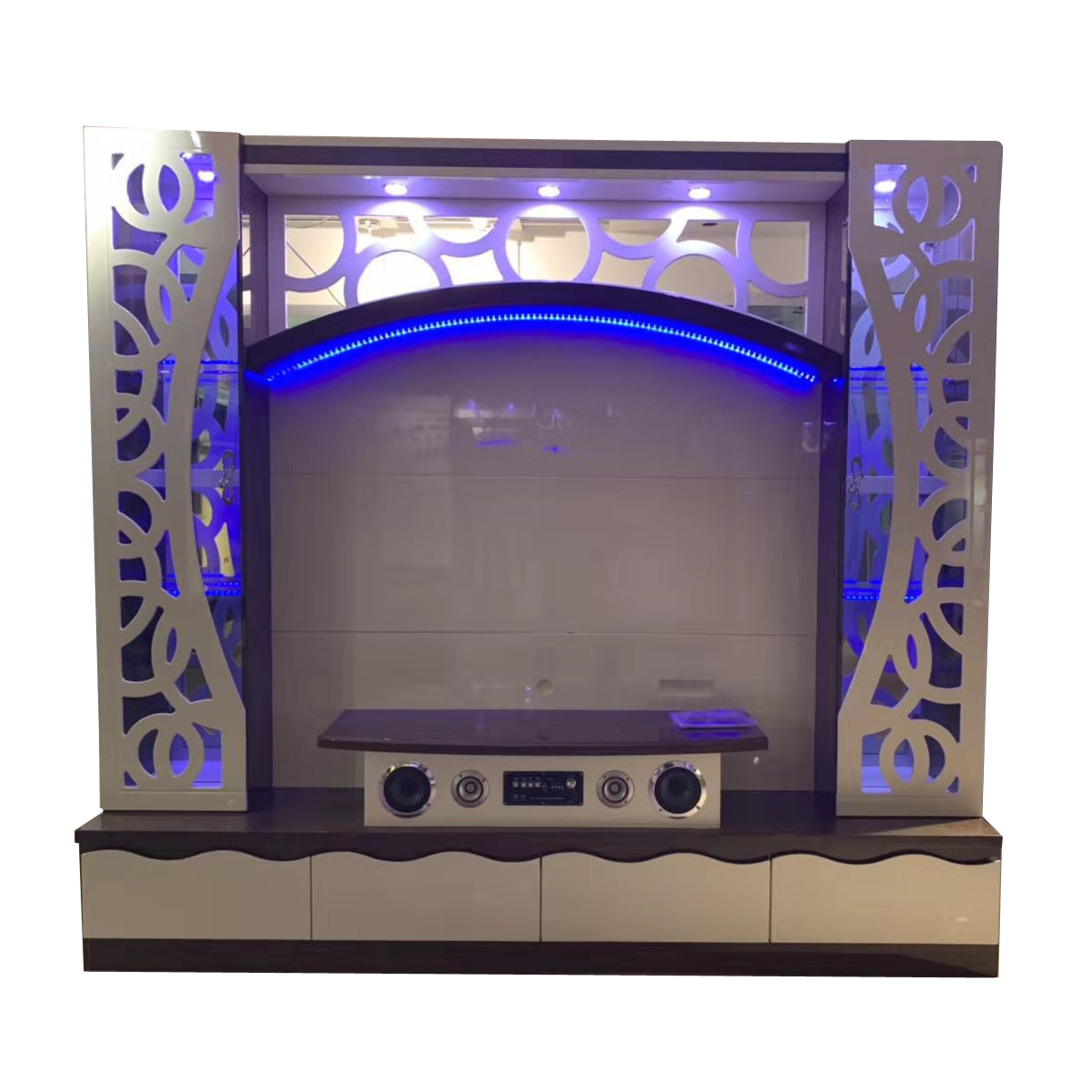 Modern Wooden Living Room Tv Cabinet Designs Wall Units With ...