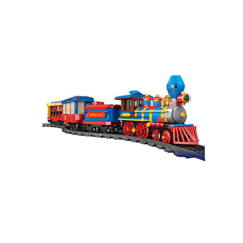 Mould King 12004 building block dream train kid toy educational for children Thomas vehicle legon technic plastic brick diy