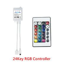 Светодиодные ленты RGB 5050 3528 Светодиодный свет полосы 12V Водонепроницаемый, инфракрасный пульт управления с Подсветка 5 м светодиодный лента ...(Китай)