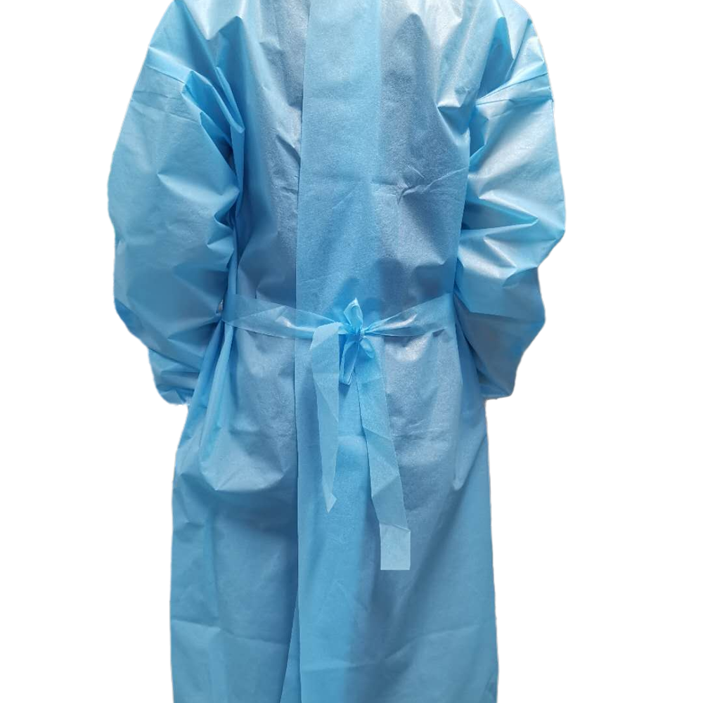 Factory wholesale pppe long sleeves isolation gown water proof - KingCare   KingCare.net