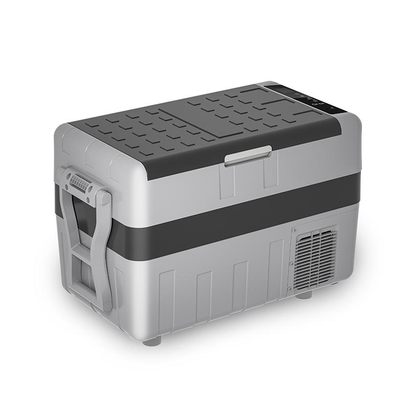 TIEFU New Portable camping freezer 30L/40L/50L dual use car fridge dc portable refrigerator