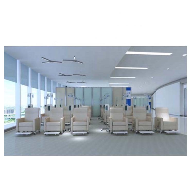Custom Made Durable Hospital Infusion Medical Waiting Transfusion Chair