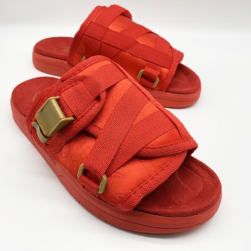 drop shipping fashion luxury brand print tag house buckle nylon non-slip pvc SPORT slides designer mens slippers sandals