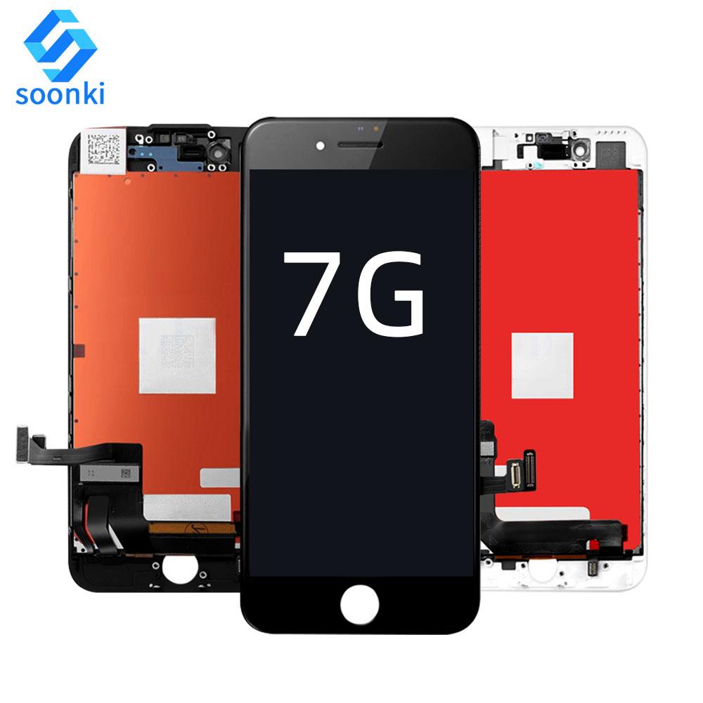 Оптовая продажа ЖК сенсорный экран дигитайзер для iphone 7 ЖК дигитайзер сборка для iphone 7 экран стекло ЖК