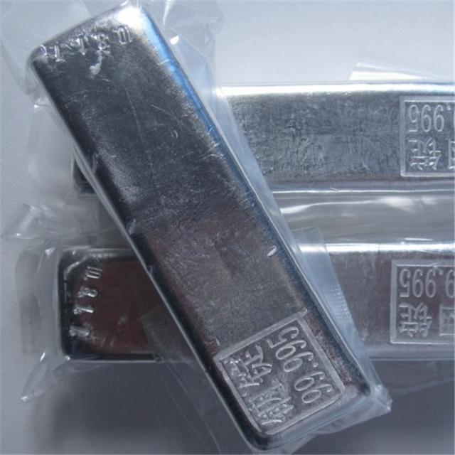 Ingot 99 995 Indium Price Buy High Purity Indium Metal Silver White Metallic Chinese Copper Customized HUN Target Dimensions Tin