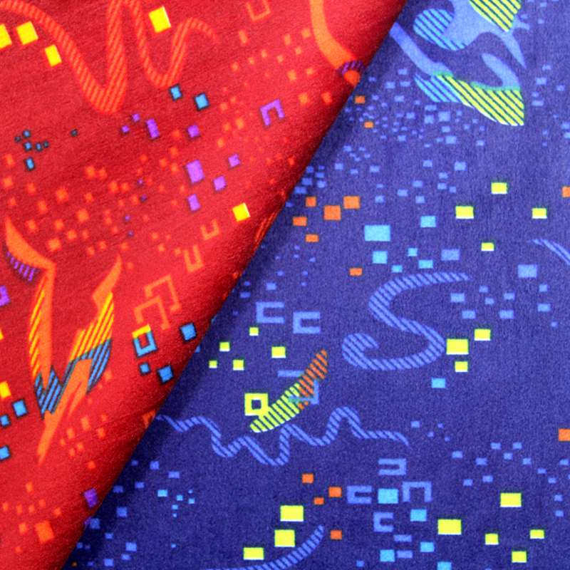Factory Cheap Price New Print Design Bus Fabric with Foam for Car Seat/Bus Seat