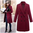 zm40724b new model fashion women woolen overcoat ladies long coat