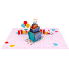 Cards 3d Card WINPSHENG Custom 3d Birthday Laser Cut Cake Pop Up Invitation Cards