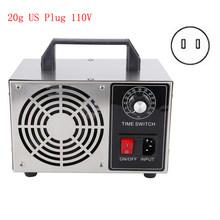 20 Гц/ч 3O переключатель времени озонатор машина генератор озона 110В/220В очиститель воздуха для дома AU/EU/UK/US Plug Purificador de Aire(Китай)
