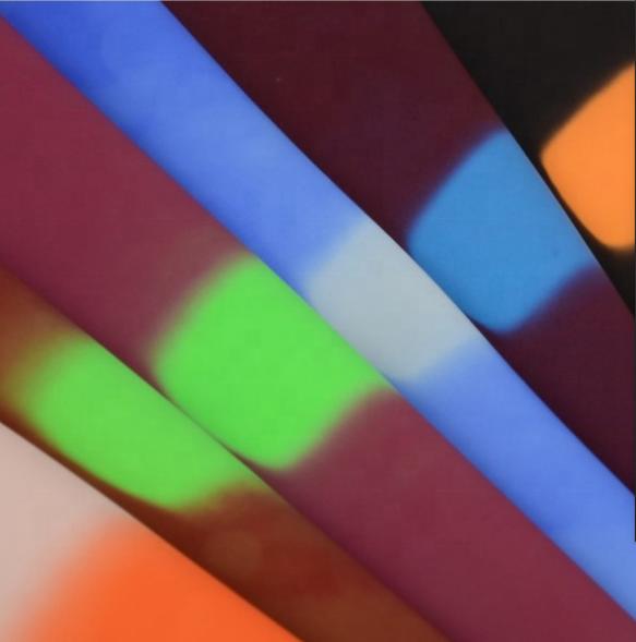 100% нейлоновая плетеная простая Термочувствительная ткань с изменением цвета при температуре