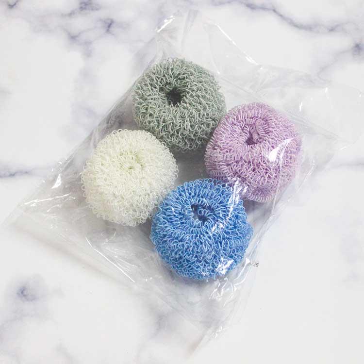 Домашние гаджеты, Самые продаваемые товары, экологически чистый горшок для мытья посуды, разноцветный кухонный мяч из нанополиэфирного волокна
