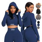Workout Clothes Seamless Sports Bra Yoga Leggings 2 Piece Set Seamless Yoga Set Sport Wear Gym Clothes