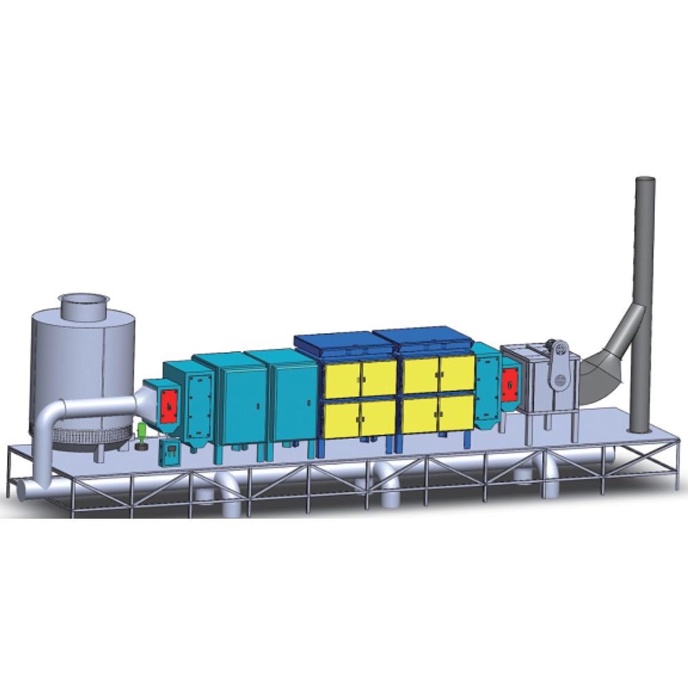DR AIRE более 95% удаляет ESP для блоков контроля загрязнения для промышленного дыма и запаха