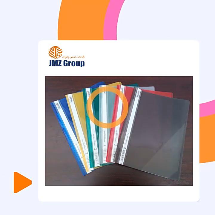 새로운 컬렉션 프로모션 플라스틱 파일 폴더 패스너